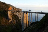 Bixby Bridge, Big Sur, california, USA..  Fototapety Mosty Fototapeta