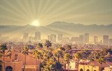 Sunrise over Phoenix Arizona USA  Miasta Fototapeta