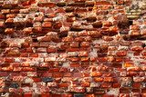 brick background  Mur Fototapeta