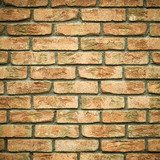 Architecture. Brick wall as texture or background  Mur Fototapeta