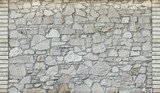 stone wall background, old texture  Mur Fototapeta