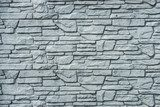 pattern gray color of  decorative stone wall surface  Mur Fototapeta