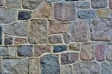 Stone wall with abstract pattern  Mur Fototapeta