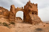 Old colonial fort in Morocco  Architektura Plakat