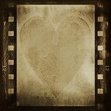 concept old grunge film strip background  Fototapety Sepia Fototapeta