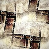 old film strip background, texture  Sepia Fototapeta