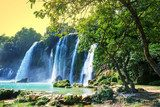 Waterfall in Vietnam  Wodospad Fototapeta