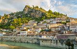 View at old city of Berat  Krajobrazy Obraz
