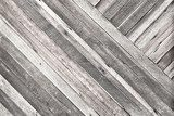 Pale plank wood texture background,Diagonal alignment wall  Styl skandynawski Fototapeta