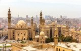 View of the Mosques of Sultan Hassan and Al-Rifai in Cairo - Egy  Afryka Fototapeta