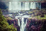 Iguassu Falls,the largest waterfalls of the world,Brazilian side  Fototapety Wodospad Fototapeta