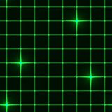 Seamless green grid with stars Fototapety Neony Fototapeta