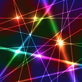 Rainbow Laser Background Fototapety Neony Fototapeta