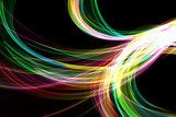 abstract colorful background Neony Fototapeta