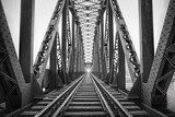 Railway Bridge,Adana,Turkey Industrialne Fototapeta