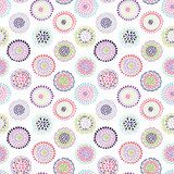 Colorful vector floral pattern Fototapety Pastele Fototapeta