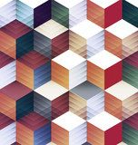 abstract geometric background. Abstrakcja Obraz