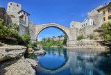 The Old Bridge, Mostar  Architektura Plakat