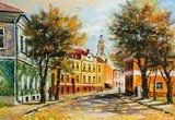 Ancient Vitebsk in the autumn  Olejne Obraz