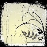 Floral Background, ornament, leaves and flowers  Draw Flower Fototapeta