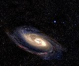 Spiral galaxy in space.  Kosmos Fototapeta