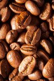brown coffee, background texture, close-up  Kawa Fototapeta