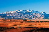 Mountain landscape in the north of Africa, Morocco  Krajobraz Fototapeta
