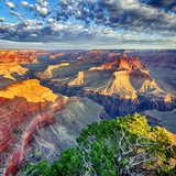morning light at Grand Canyon  Krajobraz Fototapeta