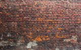 Old brick wall  Mur Fototapeta