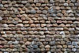 wall with natural rocks  Mur Fototapeta