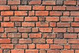 brick wall background  Mur Fototapeta