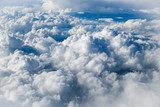 Sky with clouds  Niebo Fototapeta