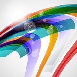 Abstract background, vector illustration  Abstrakcja Obraz