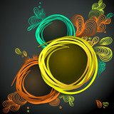 Eps10 Vector Colorful Design Background  Abstrakcja Obraz