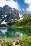 Polish Tatra mountains Morskie Oko lake  Krajobrazy Obraz