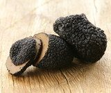 delicacy mushroom black truffle  -  rare and expensive vegetable  Obrazy do Kuchni  Obraz