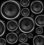 Speakers abstract background  Muzyka Obraz