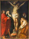 Antwerp - The Crucifixion paint by Jacob Jordaens  Religijne Obraz