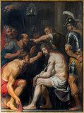 Antwerp - The Torture of Jesus by  Antoon de Bruyn  Religijne Obraz