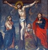 Crucifixion, Jesus on the cross  Religijne Obraz