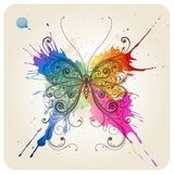 Vector decorative butterfly  Motyle Fototapeta