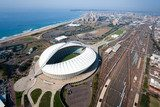 aerial view of durban city, south africa  Stadion Fototapeta