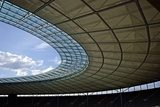 Berlin olympic stadium roof construction  Stadion Fototapeta