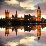 Big Ben in the evening, London, UK Biuro Plakat