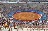 Bullfighting stadium, Plaza de Toros, Mexico  Stadion Fototapeta
