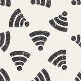 doodle wifi Tapety Do biura Tapeta