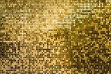 Gold square mosaic tiles for texture background Fototapety do Salonu Fryzjerskiego Fototapeta