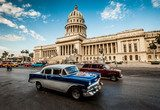 Havana, Cuba - on June, 7th capital building of Cuba, 7th 2011 Salon Plakat