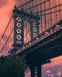 Manhattan bridge Mosty Obraz