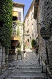 Narrow lane in St Paul De Vence Prowansja Fototapeta